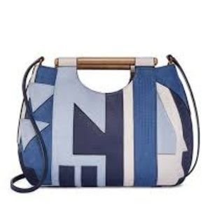 Tory Burch Dowel Patchwork Tote